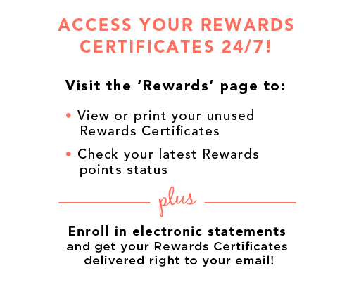 Manage Your TJX Rewards credit card